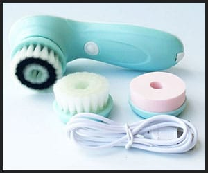 3-in-1 Electric Rotating Facial Cleansing Brush